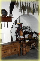 marksburg castle food preparation area