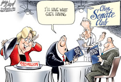 senator Landrieu cartoon